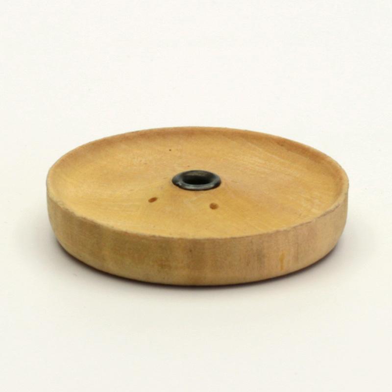 ostatní Stojánek dřevěný na nepálské široké tyčinky, mini talířek 1 ks