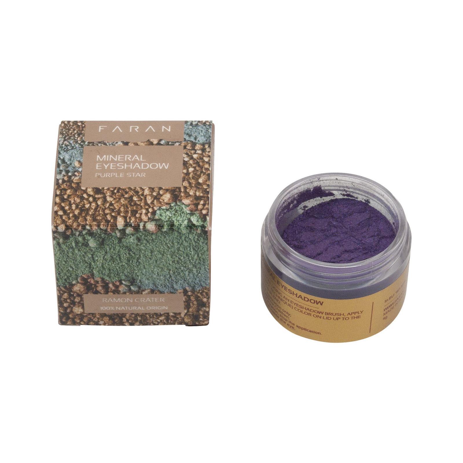 Faran Minerální oční stíny, Purple Star Eyeshadow 4 g, 15 ml