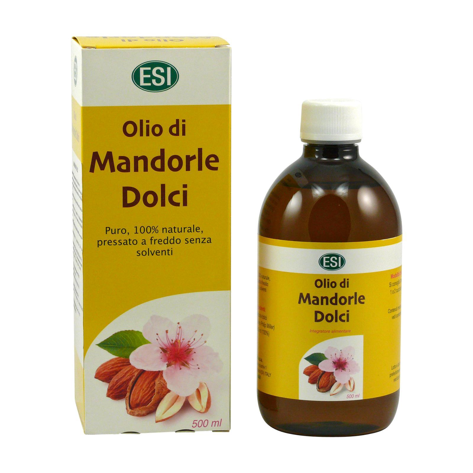 ESI Mandlový olej lisovaný za studena 100 ml