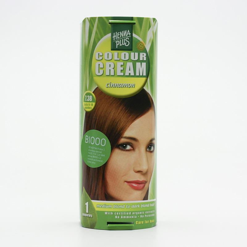 Henna Plus Krémový přeliv Skořicová 7.38 60 ml
