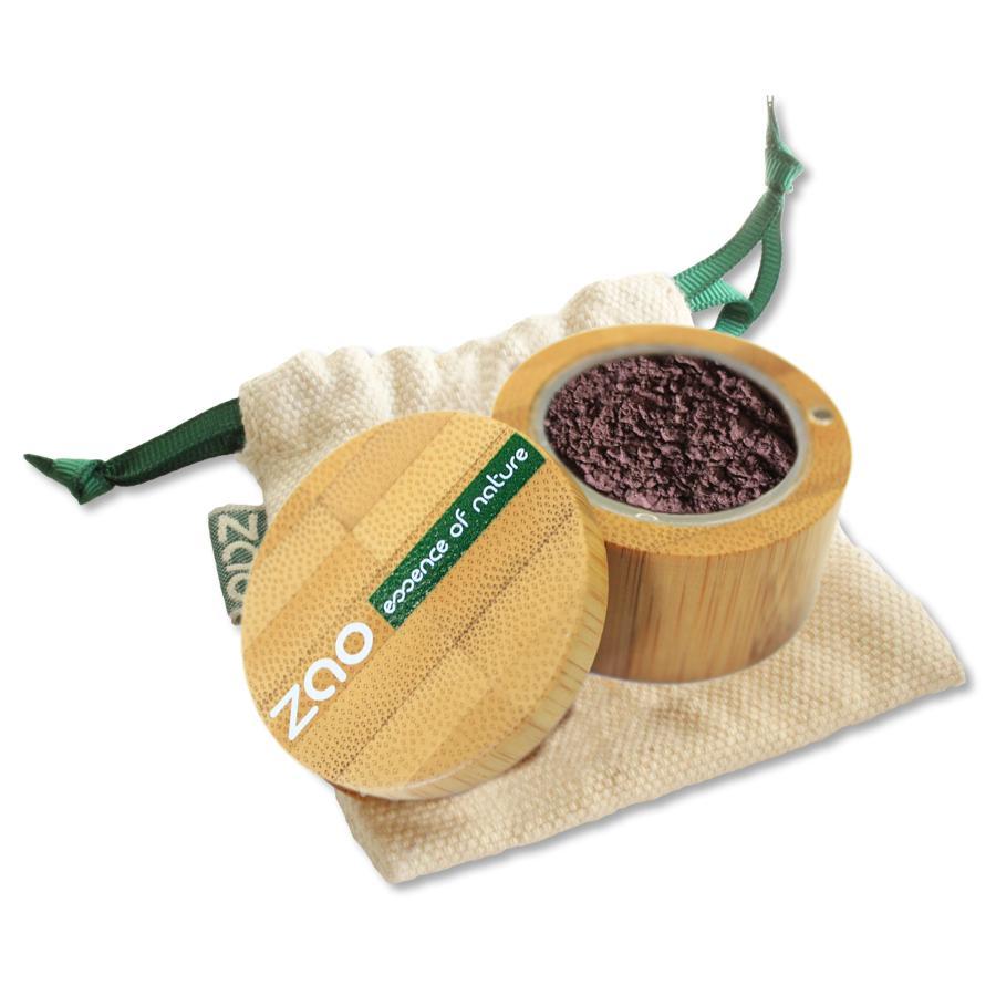 ZAO Minerální stíny víceúčelové 534 Iridescent Aubergine 2 g bambusový obal