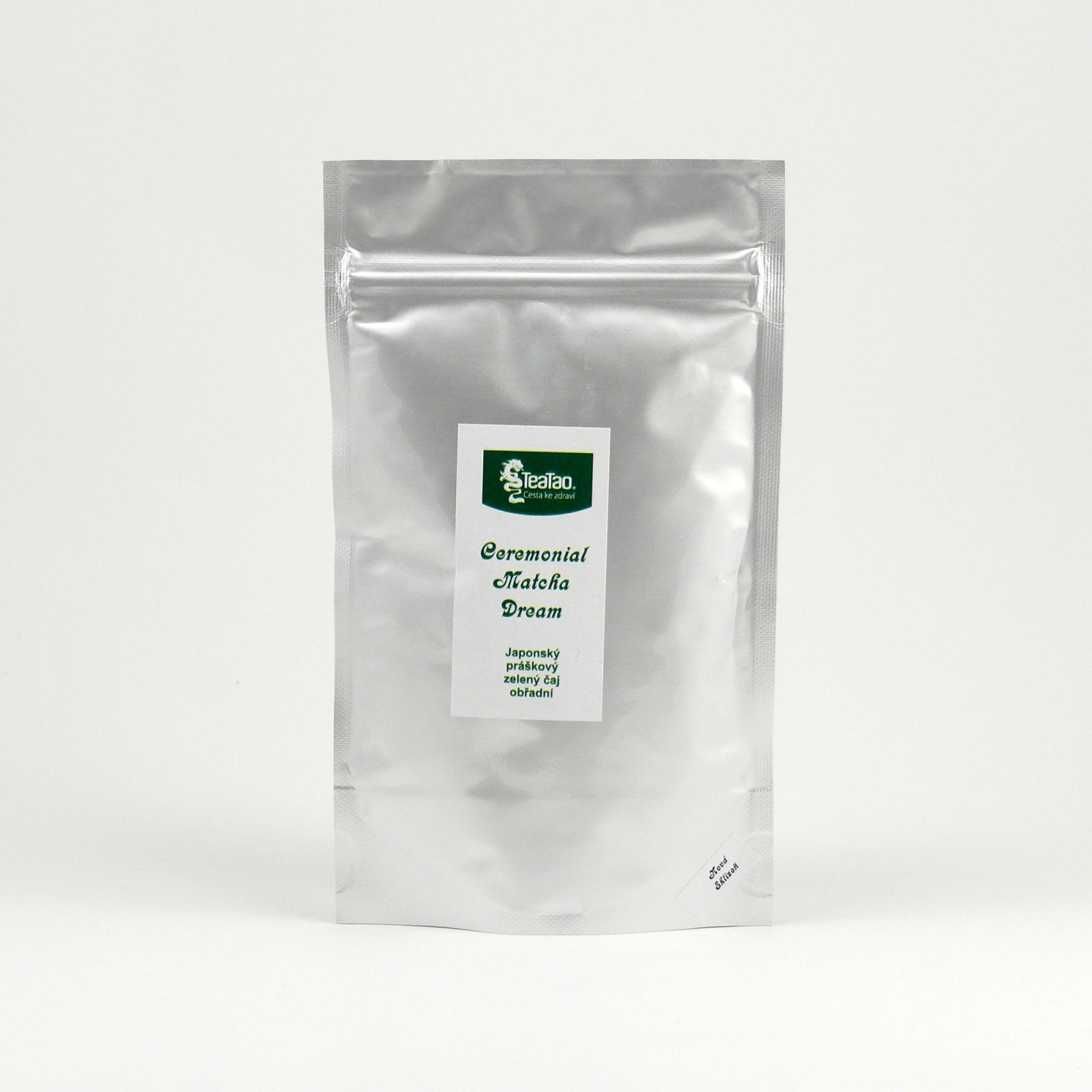 TeaTao Zelený čaj Ceremonial Matcha Dream 50 g