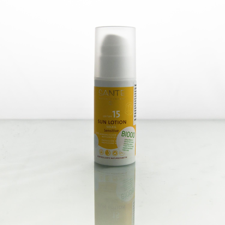 Santé x Opalovací mléko SPF 15 sensitive 100 ml