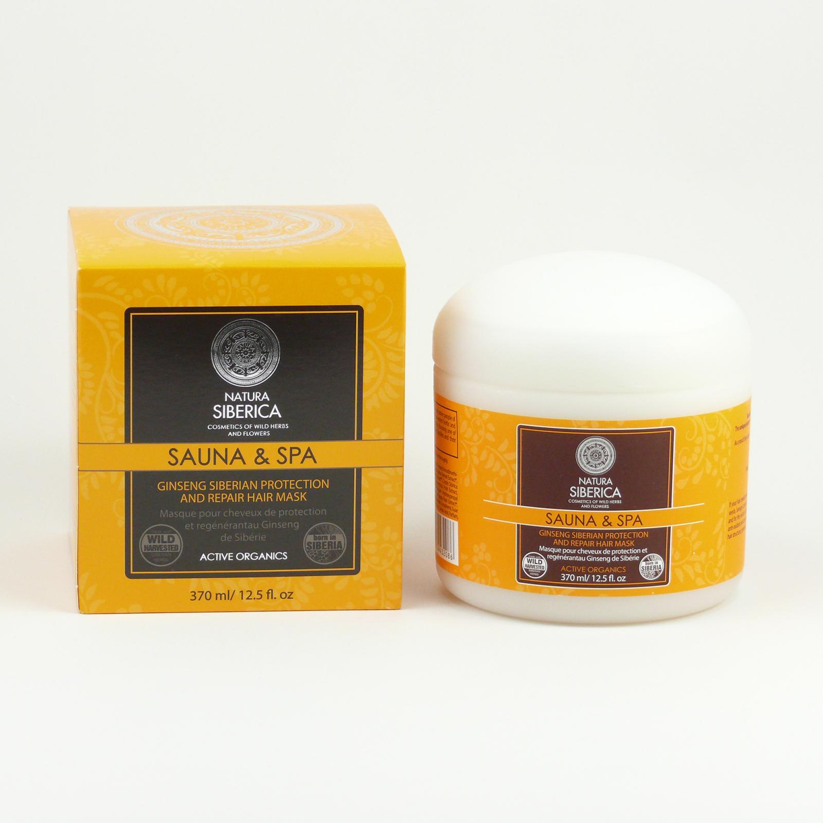 Natura Siberica Maska pro ochranu a regeneraci vlasů 370 ml