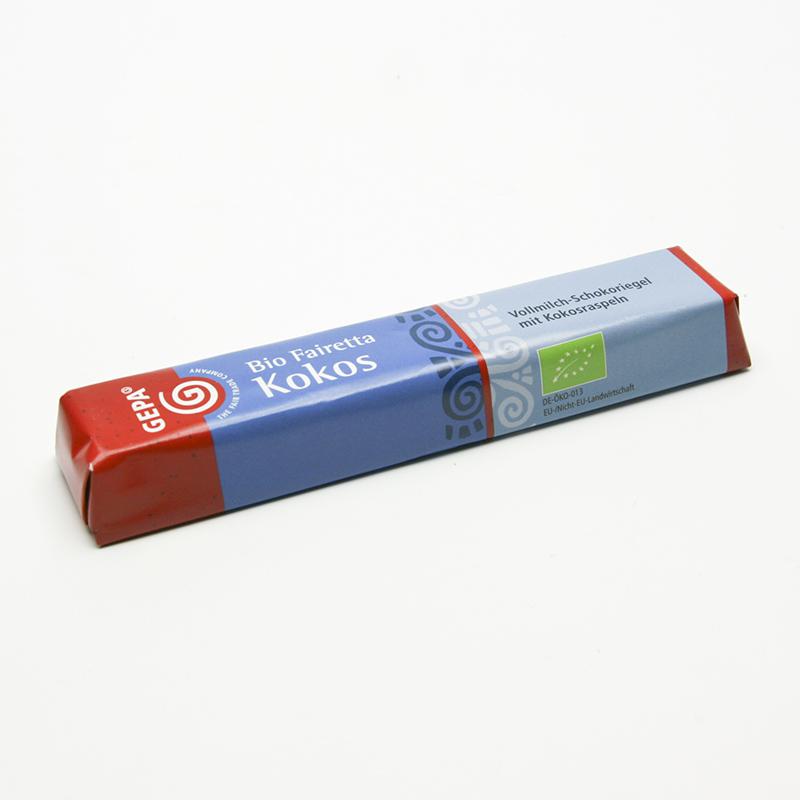 Gepa x Výprodej Čokoláda Bio Fairetta Kokos 45 g