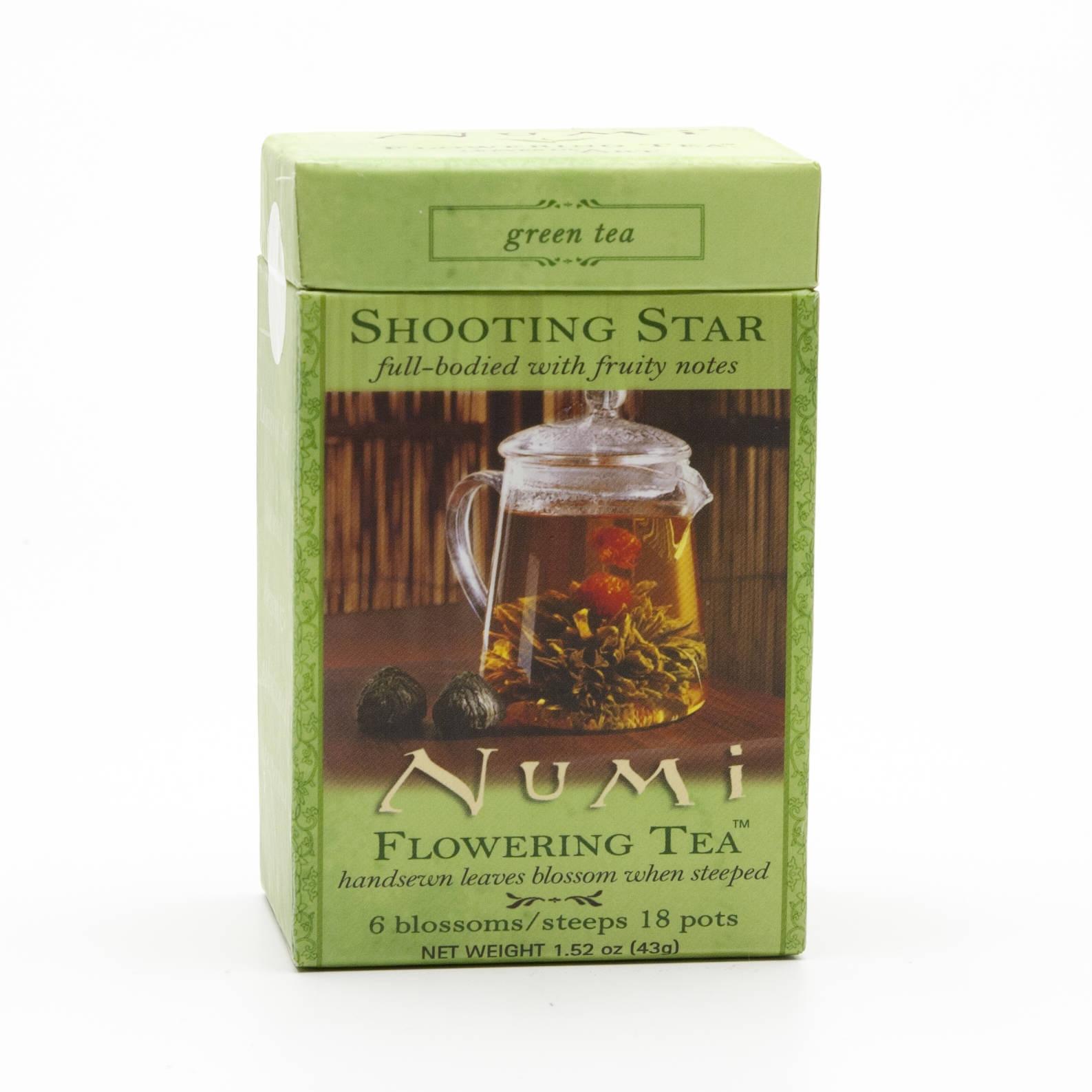 Numi Kvetoucí čaj Shooting Star 6 ks