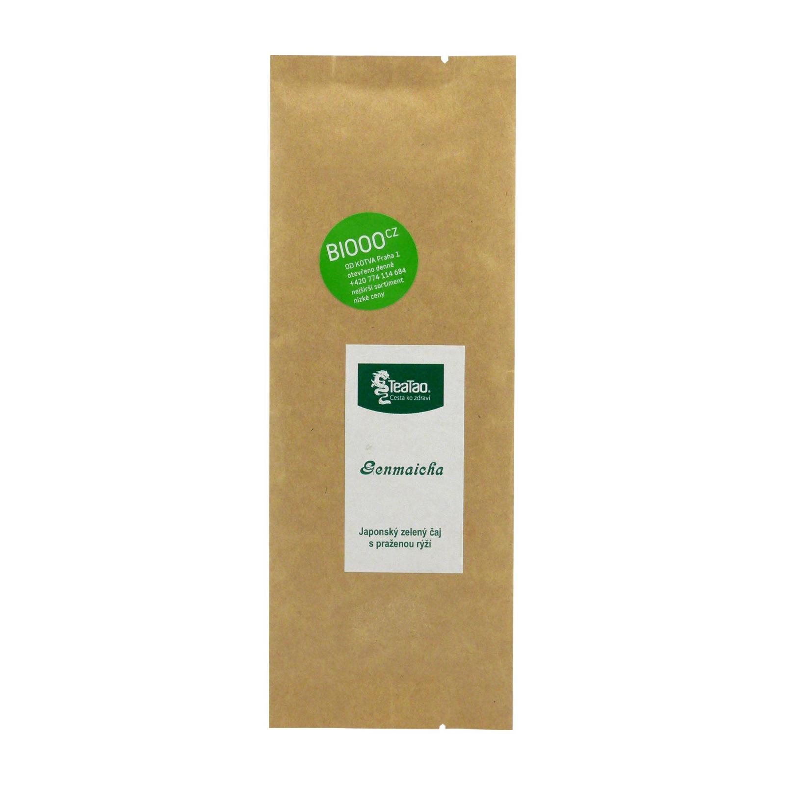 TeaTao Zelený čaj Genmaicha 50 g