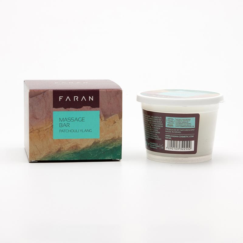 Faran Masážní blok Patchouli / Ylang 100 ml
