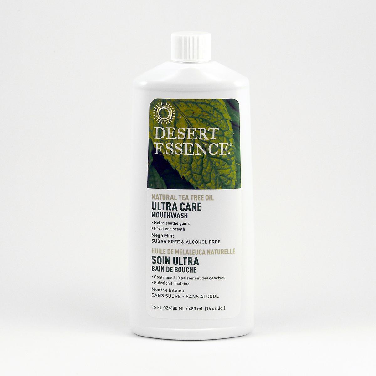 Desert Essence Ústní voda Ultra Care - Mega Mint 480 ml
