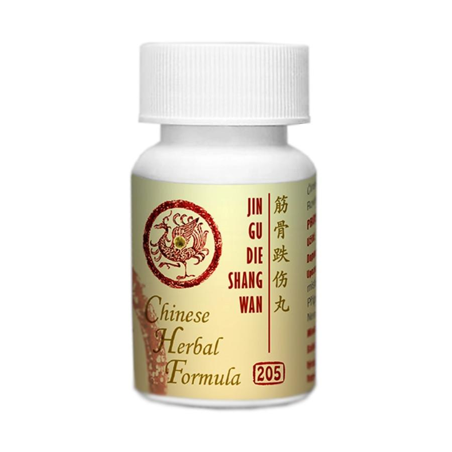 Lanzhou Pharmaceutical TCM formule 205 Jin Gu Die Shang Wan 192-200 kuliček, 33 g
