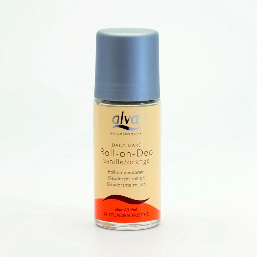 Alva Deo krystal kulička vanilka a pomeranč 50 ml