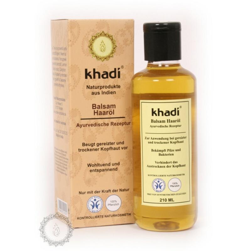 Khadí Vlasový olej Balzám proti lupům 210 ml
