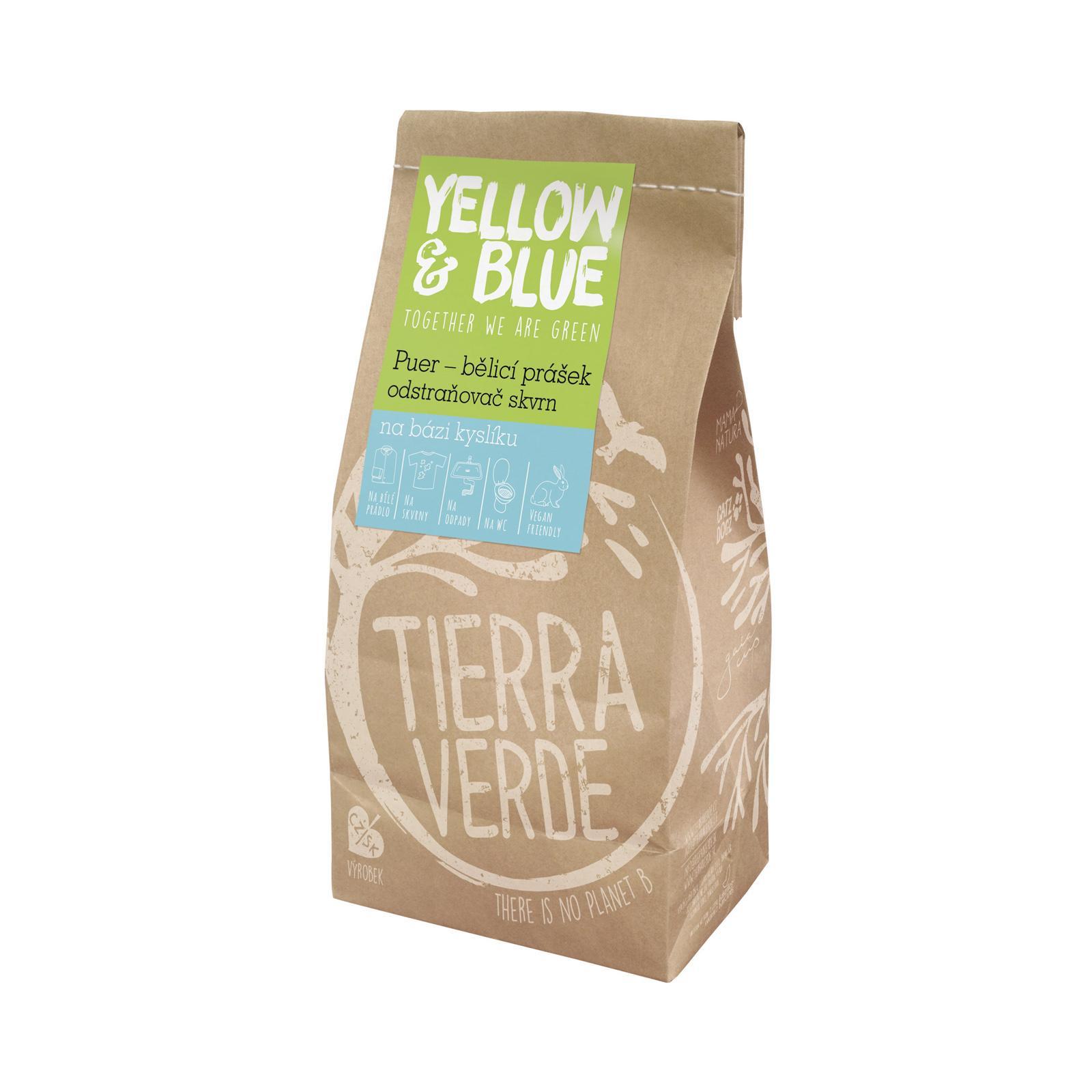Yellow and Blue Bělicí prášek Puer 2 kg