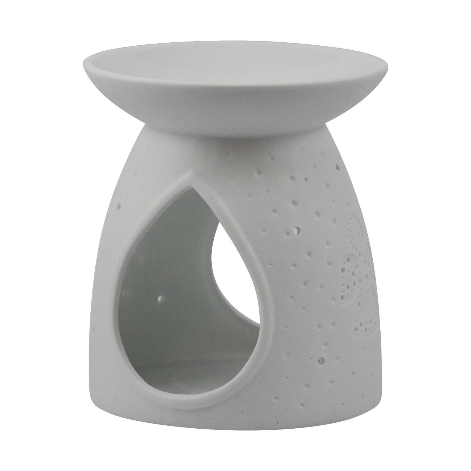 Kerzenfarm Porcelánová aromalampa Anděl 1 ks, 11 cm