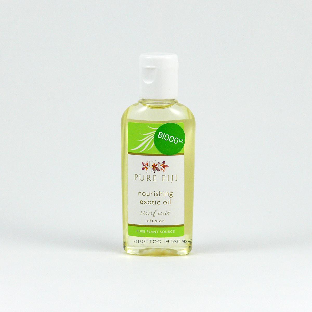Pure Fiji Exotický masážní a koupelový olej, karambola 29 ml