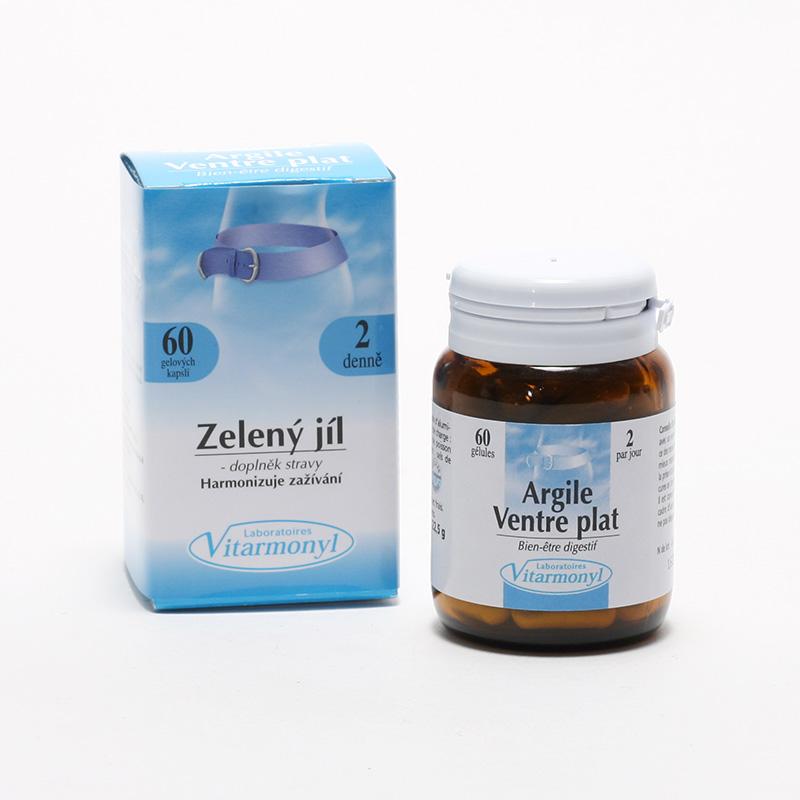 Laboratoires Vitarmonyl Zelený jíl 60 kapslí, 22,5 g