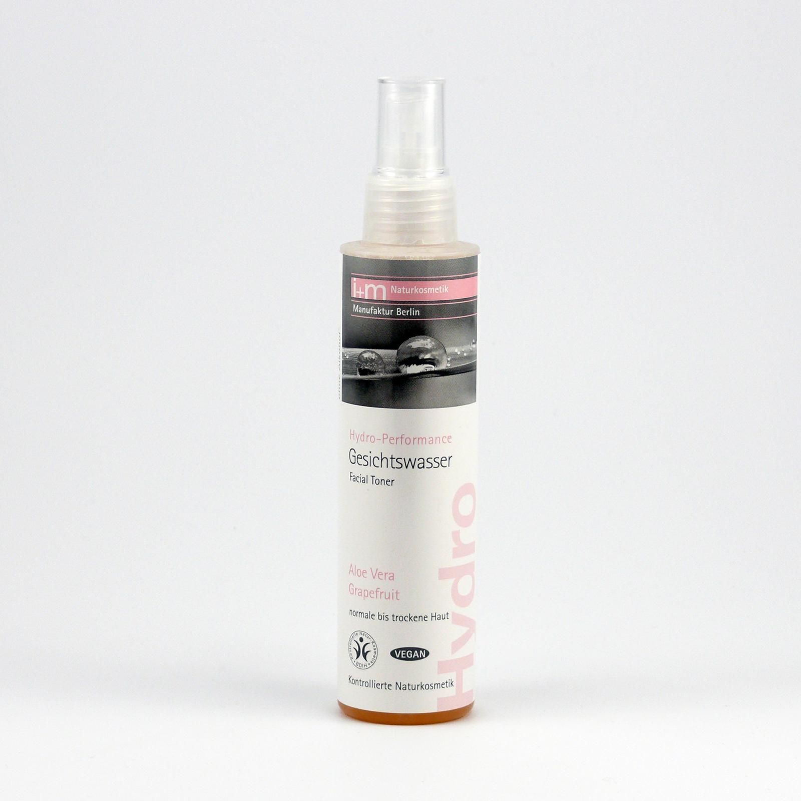 I+M Naturkosmetik Pleťová voda Hydro-Performance 150 ml