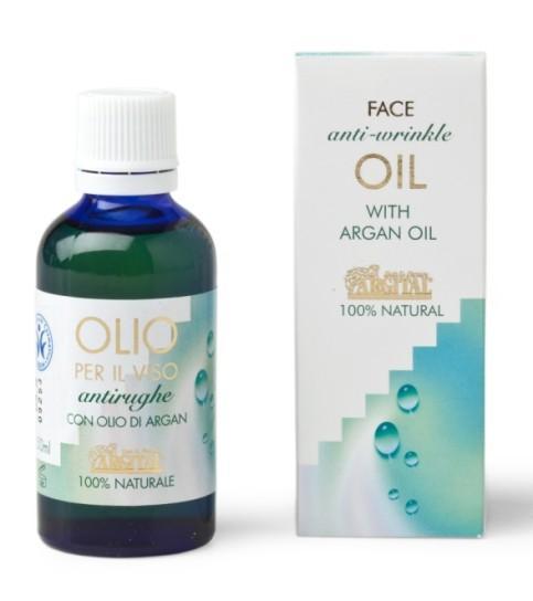 Argital Arganový pleťový olej proti vráskám 50 ml
