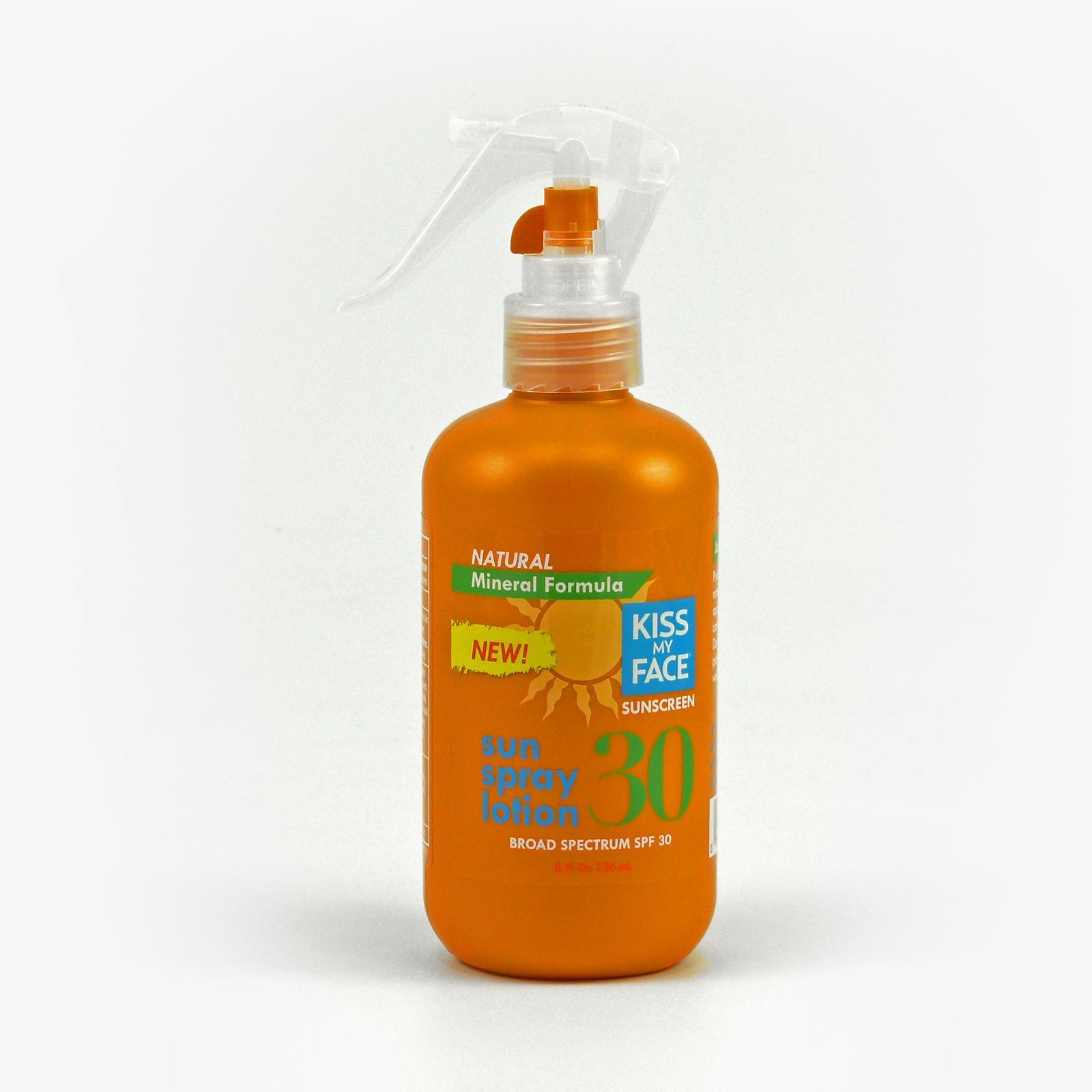 Kiss My Face Corp. Opalovací mléko SPF 30 ve spreji 236 ml