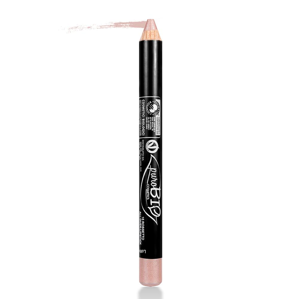 puroBIO cosmetics Tužka na rty 15 Antique Pink 2,3 g