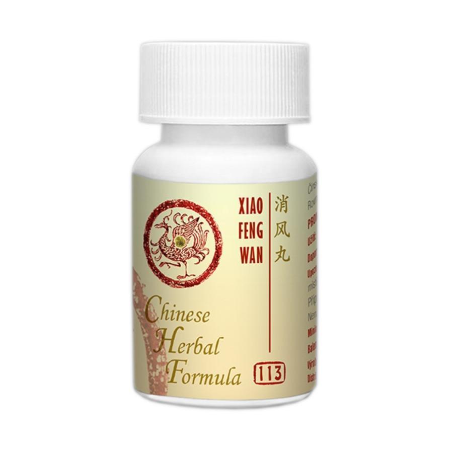 Lanzhou Pharmaceutical TCM formule 113 Xiao Feng Wan 33 g, 192-200 ks (kuliček)