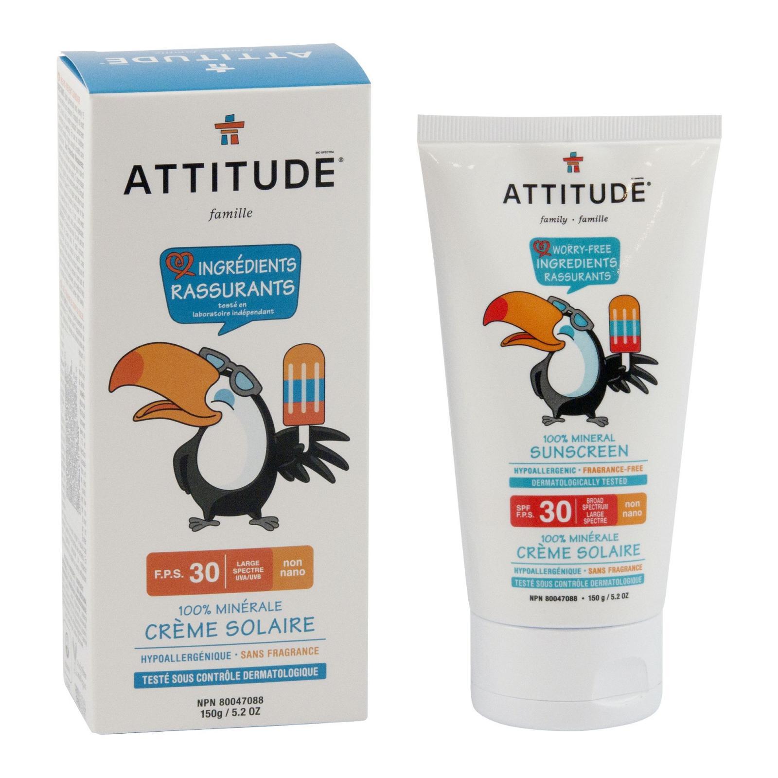 Attitude Dětský opalovací krém SPF 30 150 g