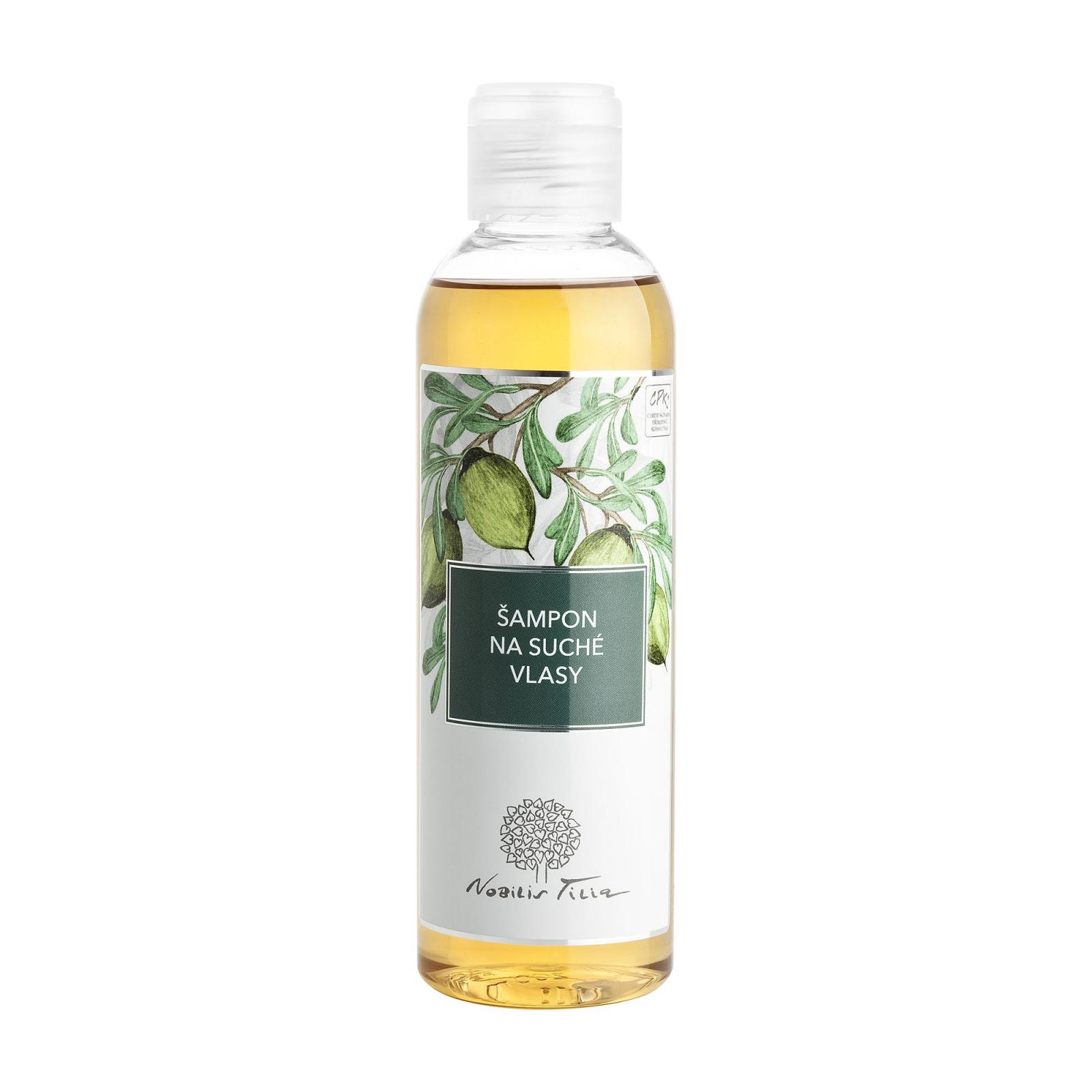 Nobilis Tilia Šampon obnovující s arganovým olejem 200 ml