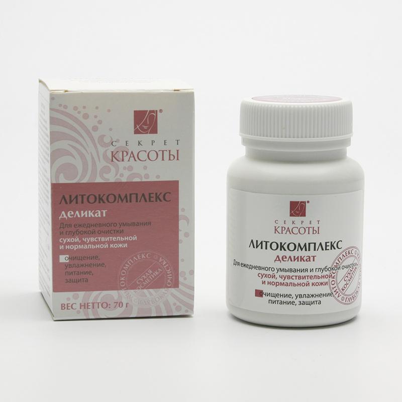 Hloubková hygiena kůže Výprodej Litokomplex Delikát 70 g