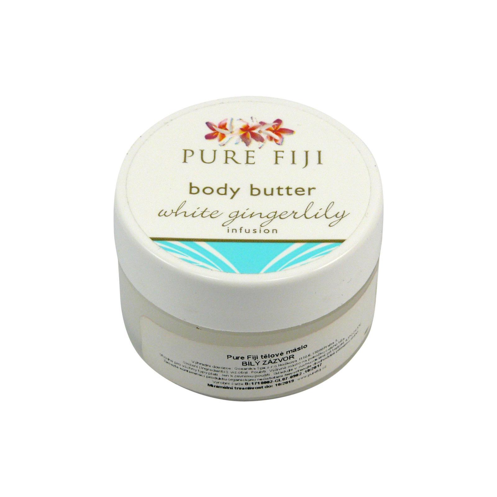Pure Fiji Tělové máslo, zázvor 15 ml