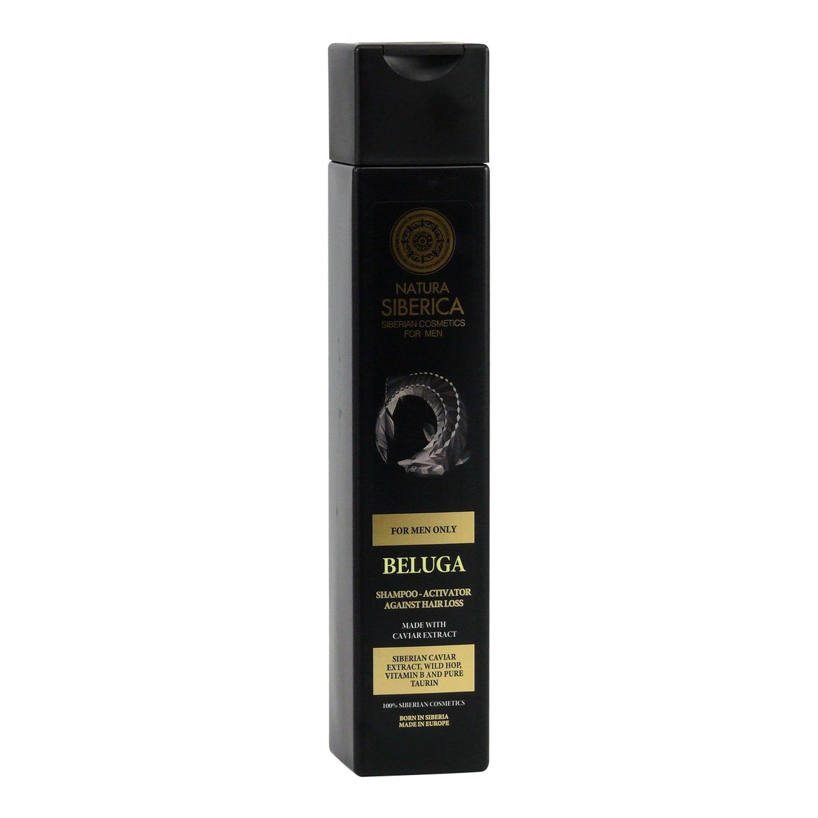 Natura Siberica Šampon proti padání vlasů Beluga, For men only 250 ml