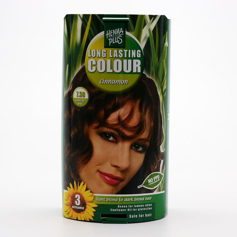 Henna Plus Dlouhotrvající barva Skořicová 7.38 100 ml