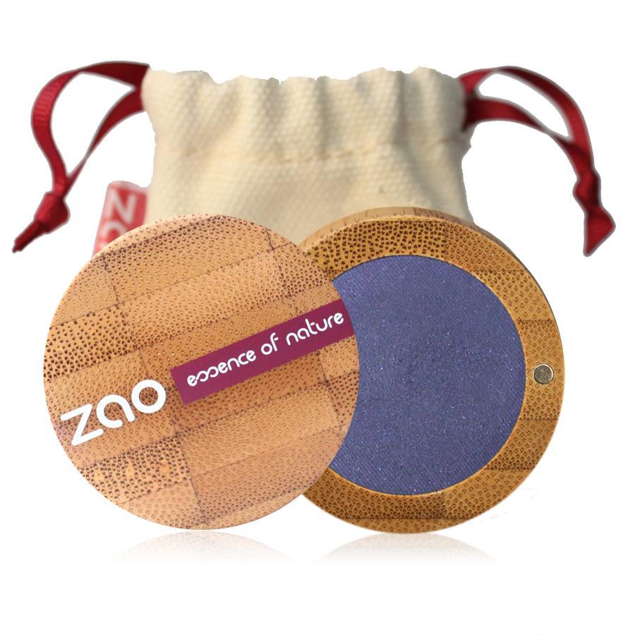ZAO Třpytivé oční stíny 112 Azure Blue 3 g bambusový obal