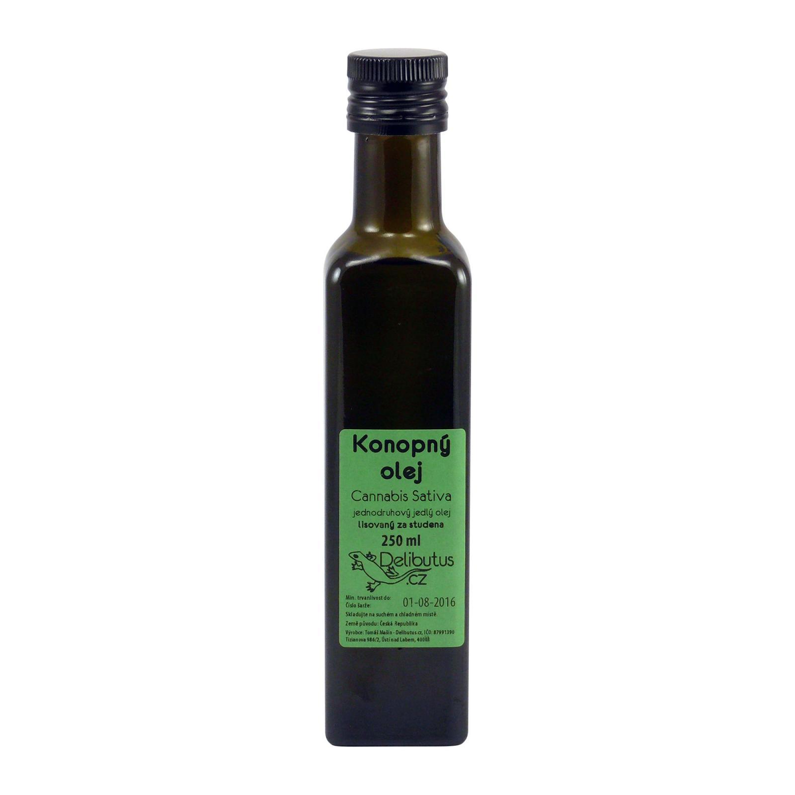 Delibutus Konopný olej 250 ml