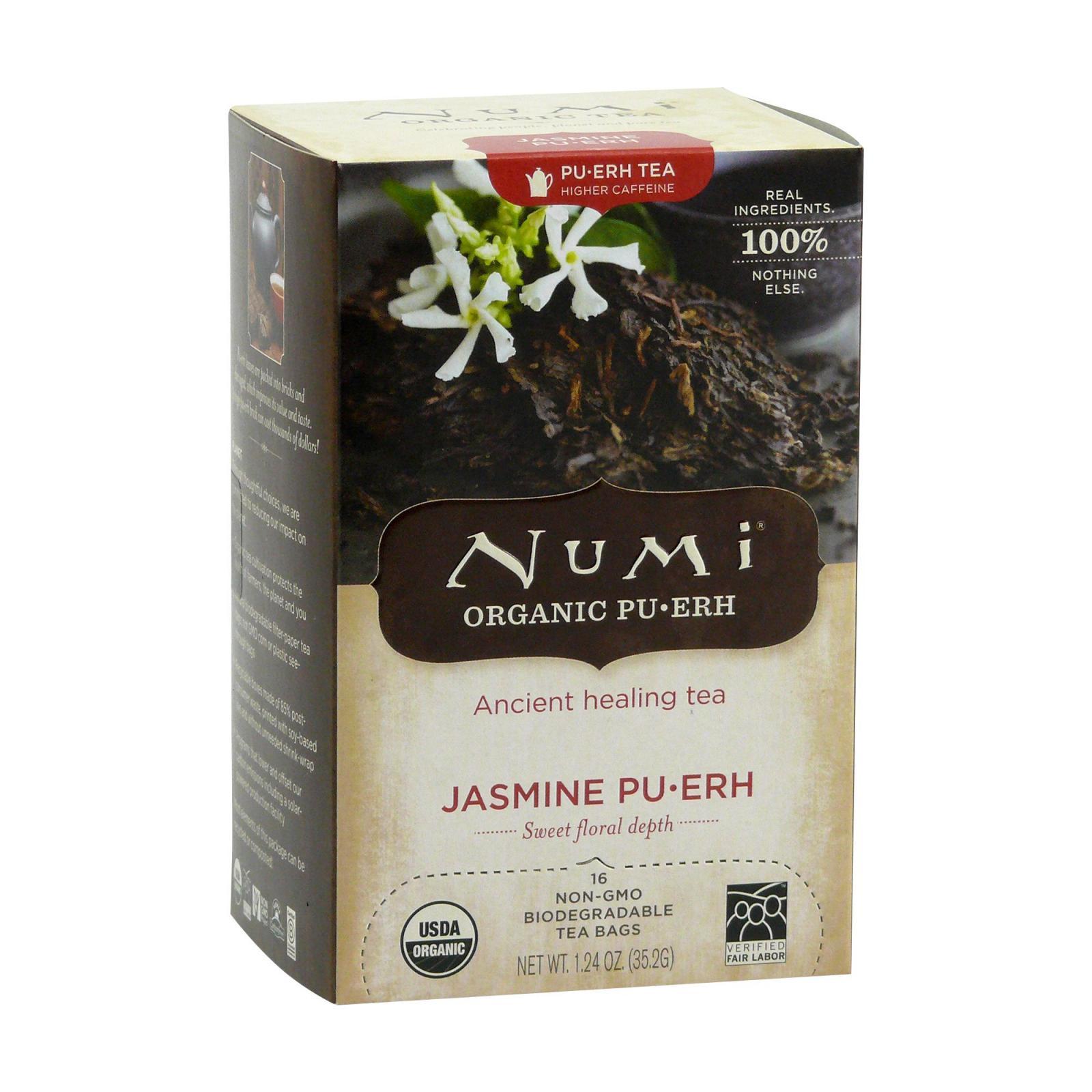 Numi Puerh Jasmine Pu-erh 16 ks, 35,2 g