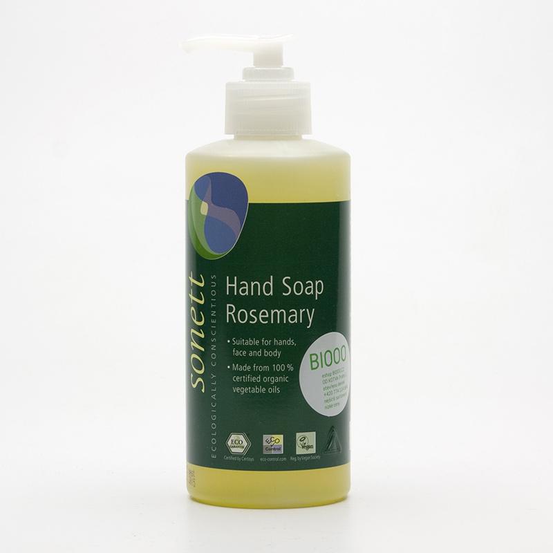 Sonett Tekuté mýdlo na ruce rozmarýn 300 ml