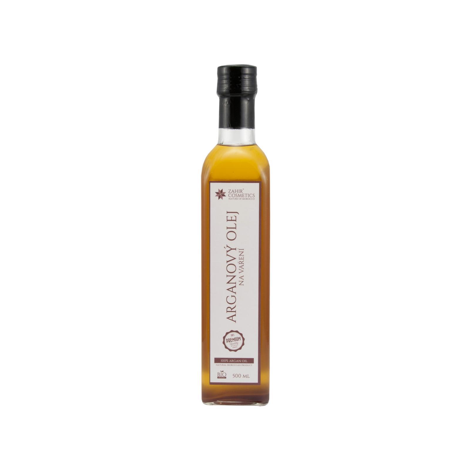 Zahir Cosmetics Arganový olej na vaření 500 ml