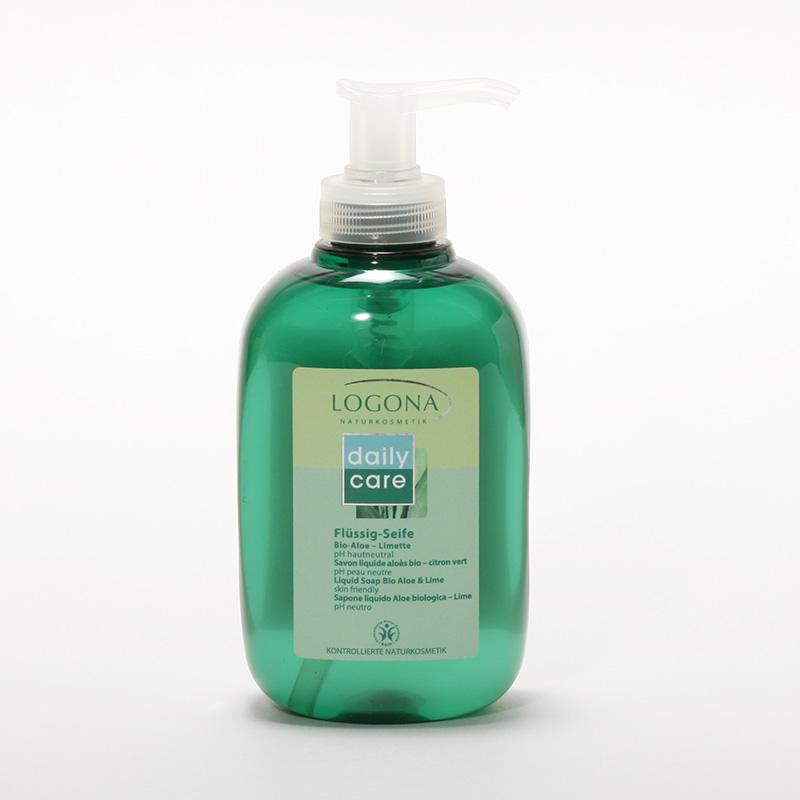 Logona Tekuté mýdlo aloe a limetka, Daily Care - vyřazen 300 ml