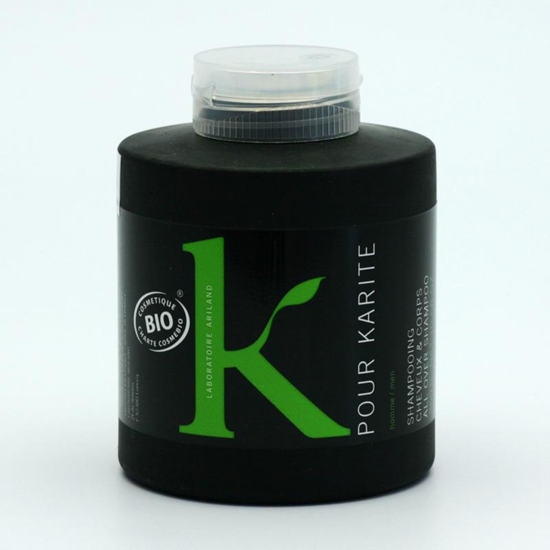 K pour Karité x Vlasový a tělový šampon, K pour Karité 300 ml