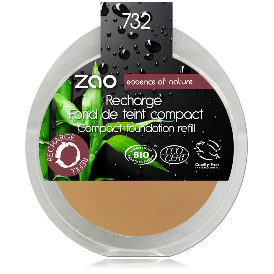 ZAO Kompaktní make-up 732 Rose Petal 6 g náplň