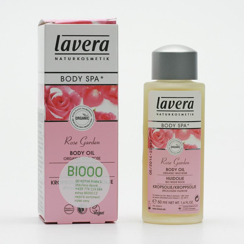 Lavera Tělový olej divoká růže, Body Spa 50 ml