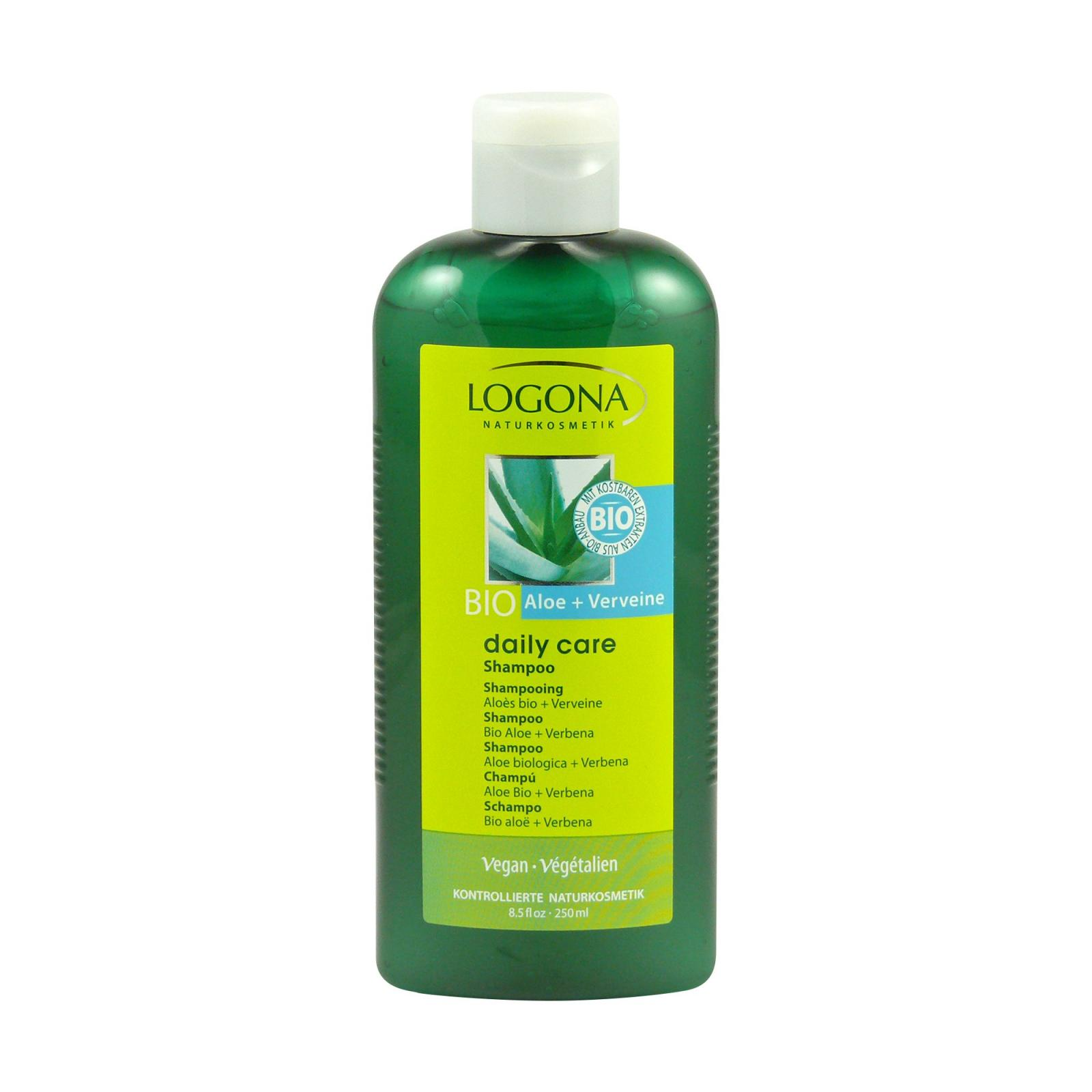 Logona Šampon aloe a verbena, Daily Care 250 ml