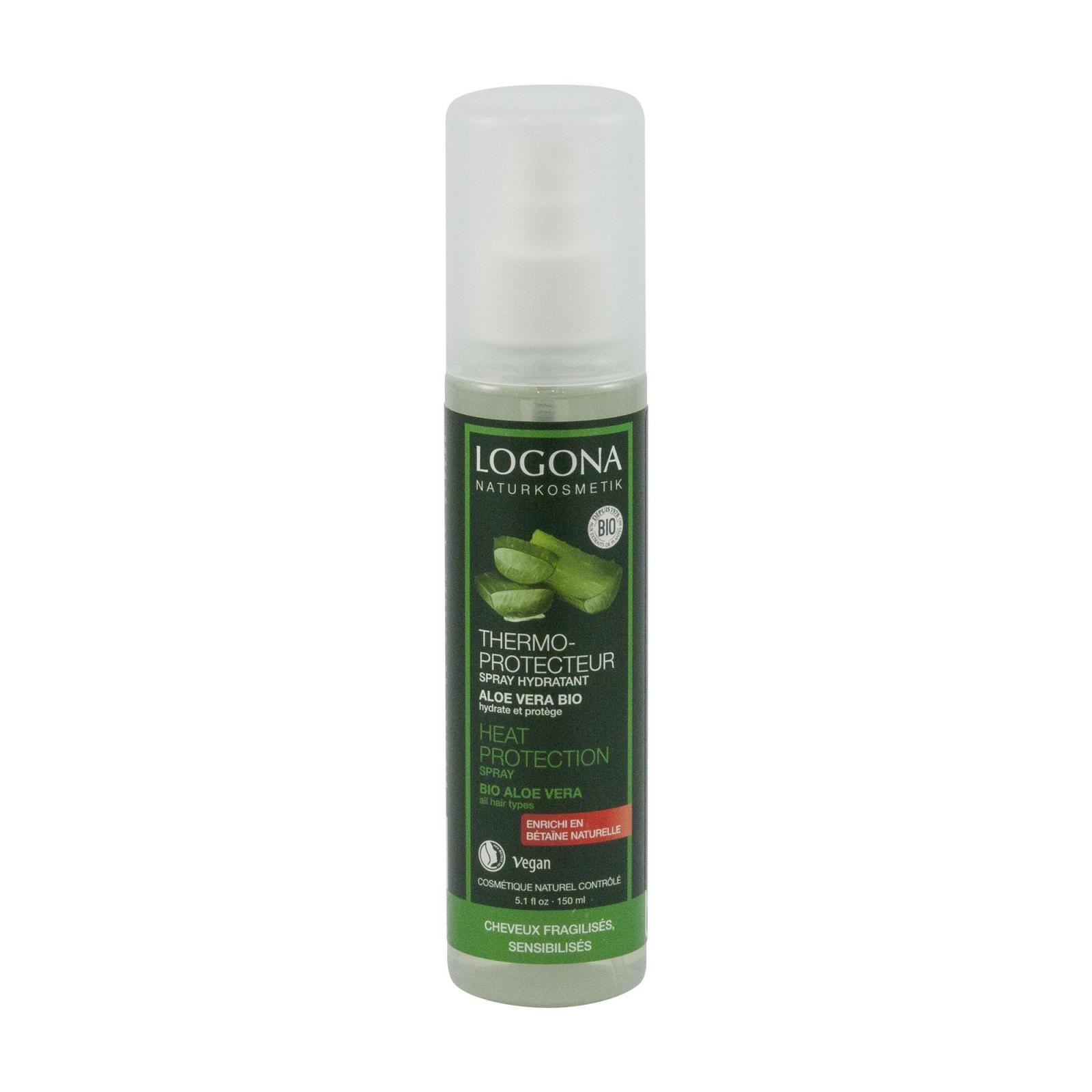 Logona Hydratační spray na vlasy, Bio Aloe 150 ml