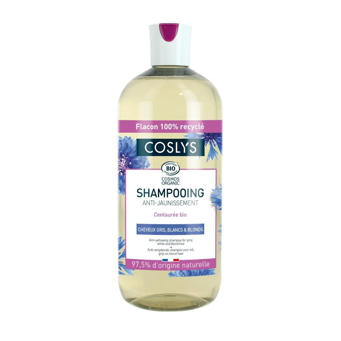 Coslys Šampon pro šedivé a bílé vlasy chrpa 500 ml