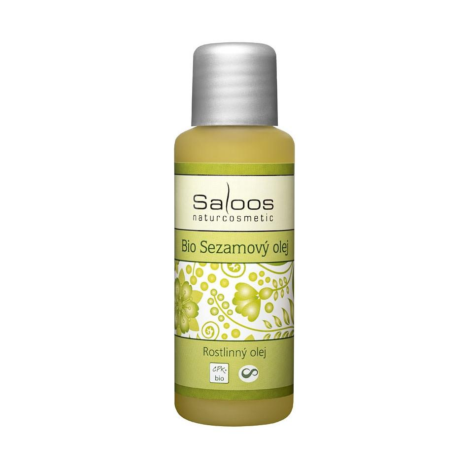 Saloos Sezamový olej, bio 125 ml