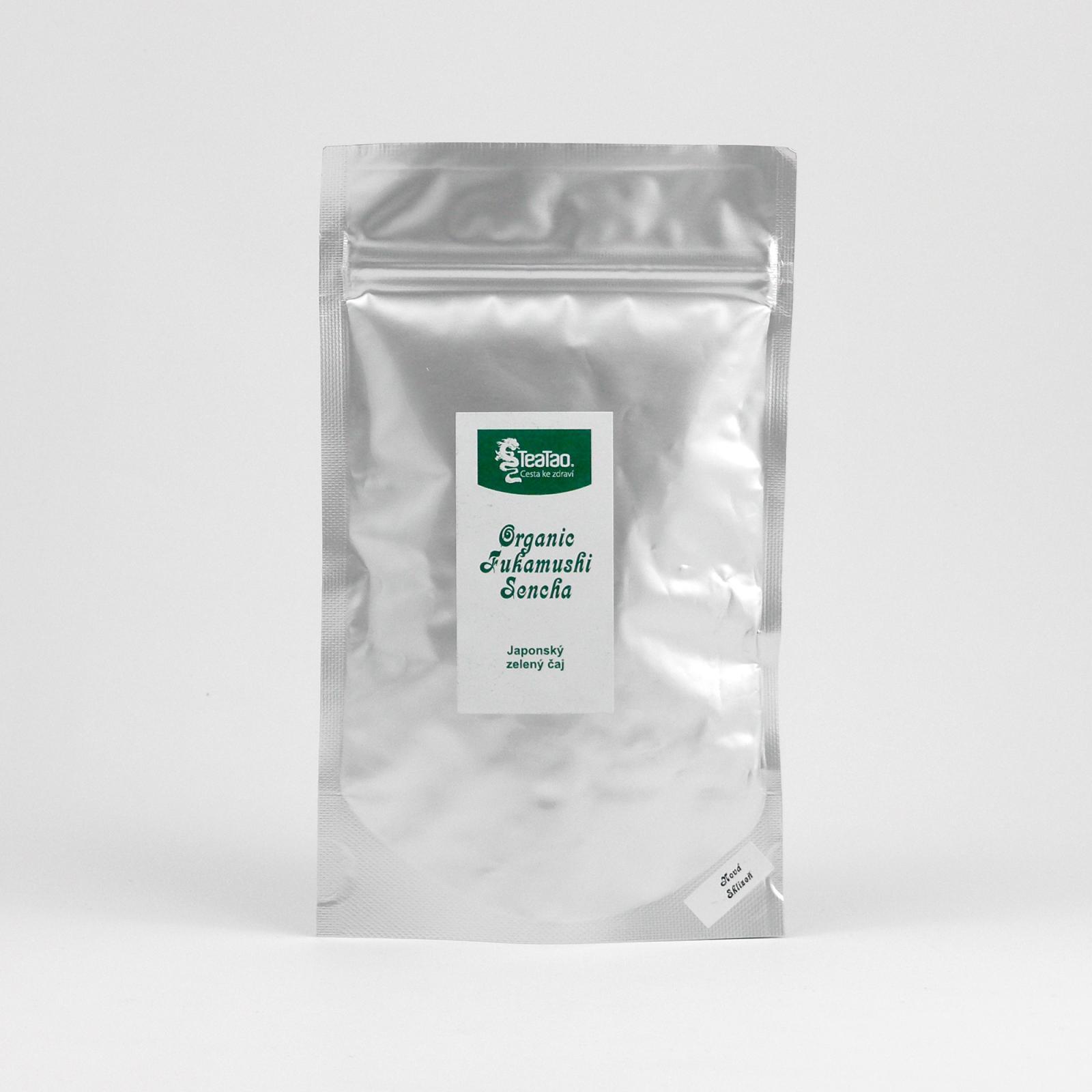 TeaTao Zelený čaj Organic Fukamushi Sencha 50 g