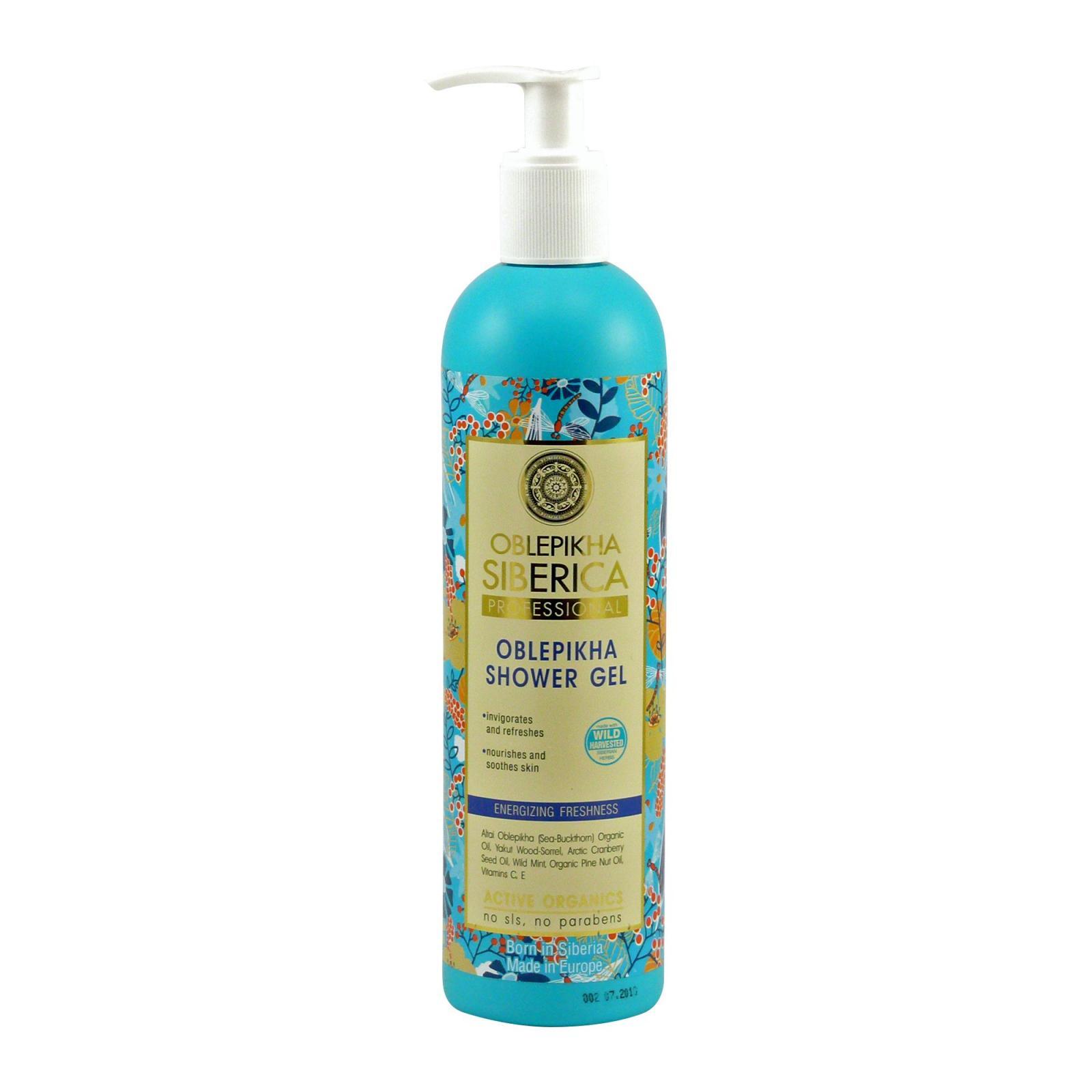 Natura Siberica Rakytníkový sprchový gel Energie a osvěžení 400 ml
