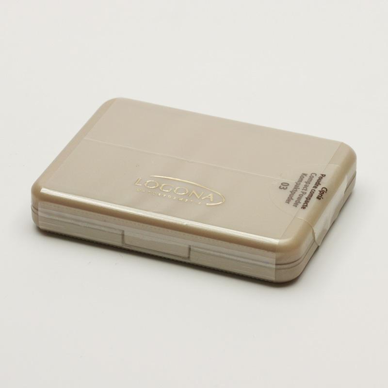 Logona xxxVýprodej Kompaktní pudr 03, Sunny Gold 10 g