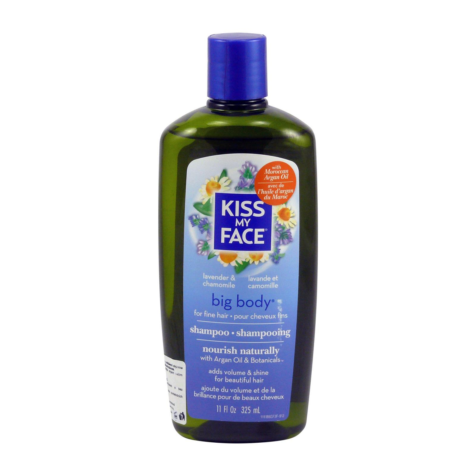 Kiss My Face Corp. Šampon Big body, levandule a heřmánek 325 ml