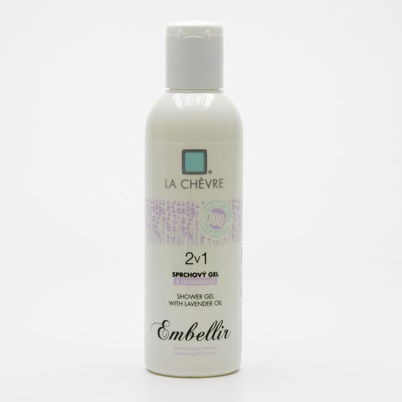 La Chévre Sprchový gel a šampon 2v1 s levandulí, Embellir 200 g