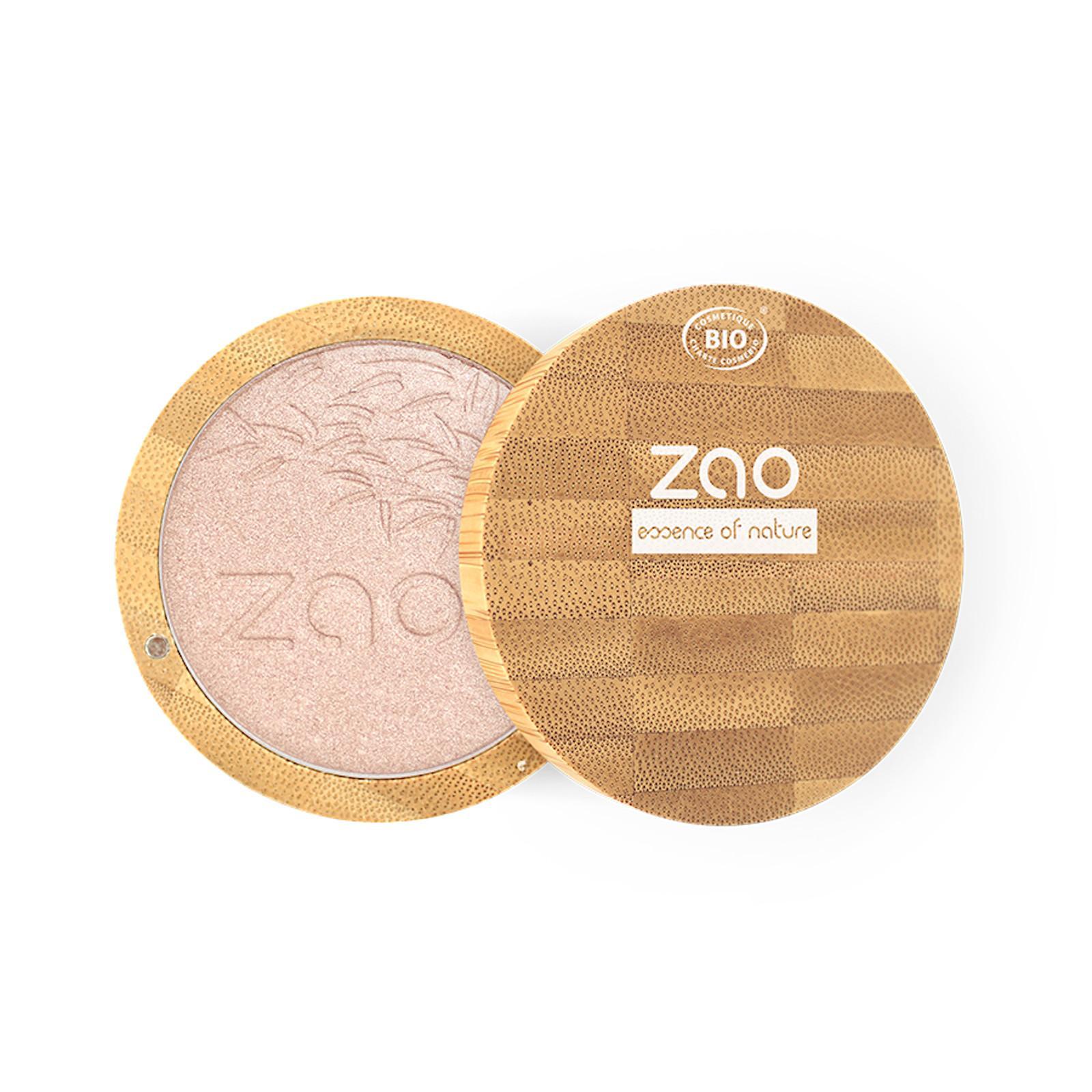 ZAO Kompaktní rozjasňovač 310 Pink Champagne 9 g bambusový obal